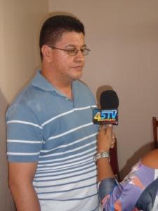 Father César Espinoza who has received death threats